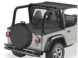 Bestop Duster Deck Cover - Black Denim (97-02 Jeep Wrangler TJ w/ Hard Top)