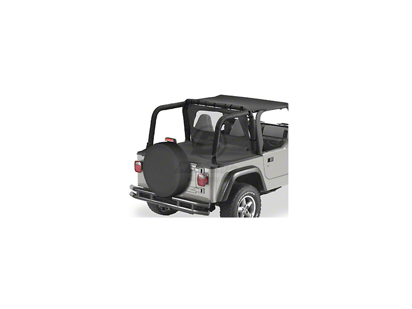 Bestop Duster Deck Cover - Spice (97-02 Jeep Wrangler TJ w/ Hard Top)