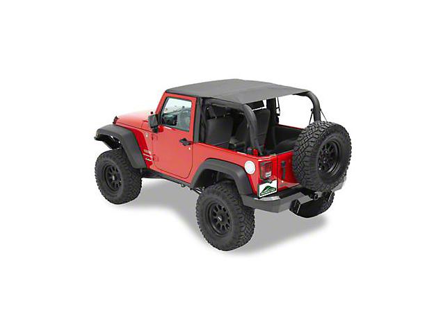Sun Cap Plus - Black Diamond (07-18 Jeep Wrangler JK 2 Door)
