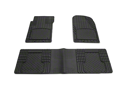 Weathertech AVM Trim-to-Fit 3-Piece Front & Rear Liners - Black (87-18 Jeep Wrangler YJ, TJ, JK & JL)