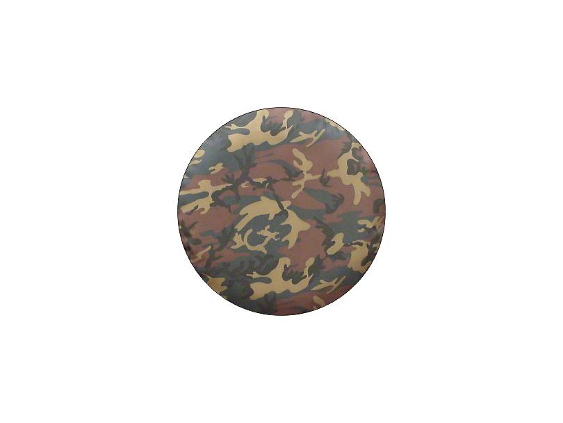 Spare Tire Cover - Camouflage (87-20 Jeep Wrangler YJ, TJ, JK & JL)
