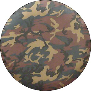 Spare Tire Cover - Camouflage (87-18 Jeep Wrangler YJ, TJ, JK & JL)