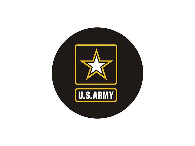 U.S. Army Spare Tire Cover - Black (87-20 Jeep Wrangler YJ, TJ, JK & JL)