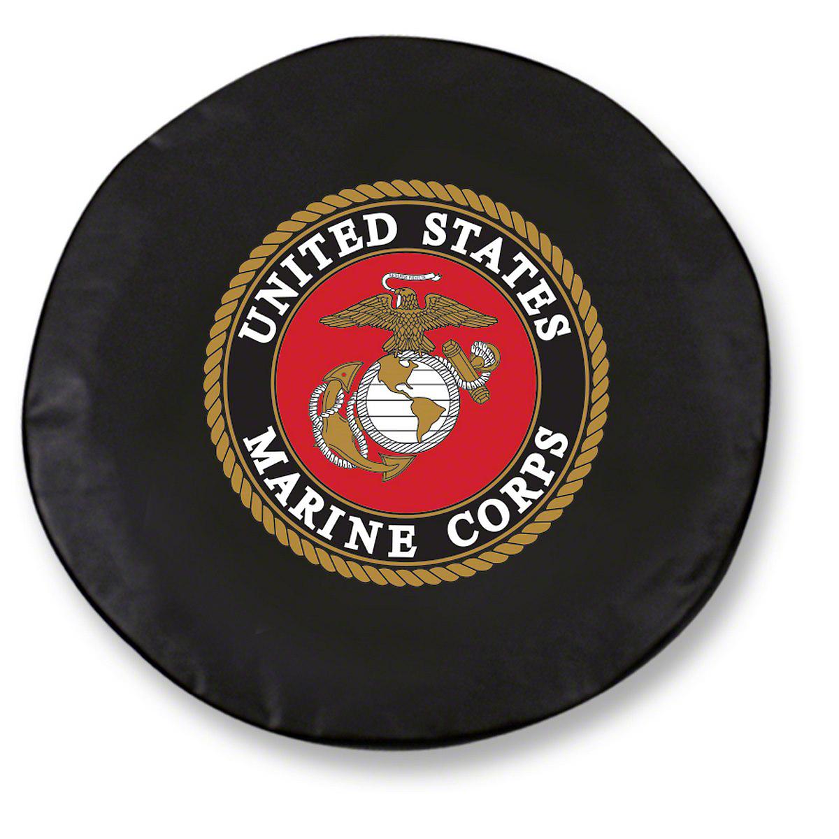 U.S. Marines Spare Tire Cover (87-18 Jeep Wrangler YJ, TJ, JK & JL)