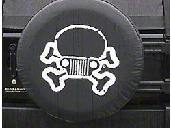 Jeep Skull and Crossbones Spare Tire Cover (66-18 Jeep CJ5, CJ7, Wrangler YJ, TJ & JK)