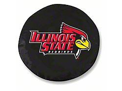 Illinois State University Spare Tire Cover; Black (66-18 Jeep CJ5, CJ7, Wrangler YJ, TJ & JK)