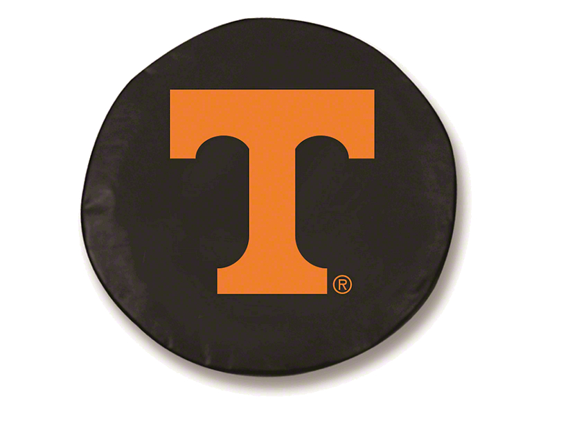 University of Tennessee Spare Tire Cover - Black (87-19 Jeep Wrangler YJ, TJ, JK & JL)