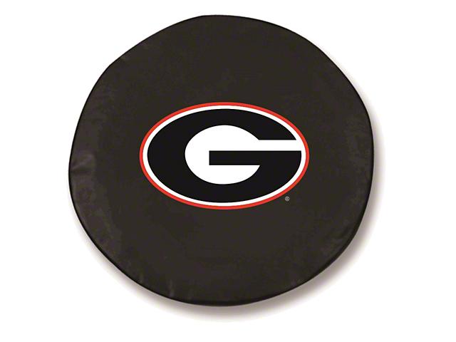 University of Georgia G Spare Tire Cover - Black (87-20 Jeep Wrangler YJ, TJ, JK & JL)