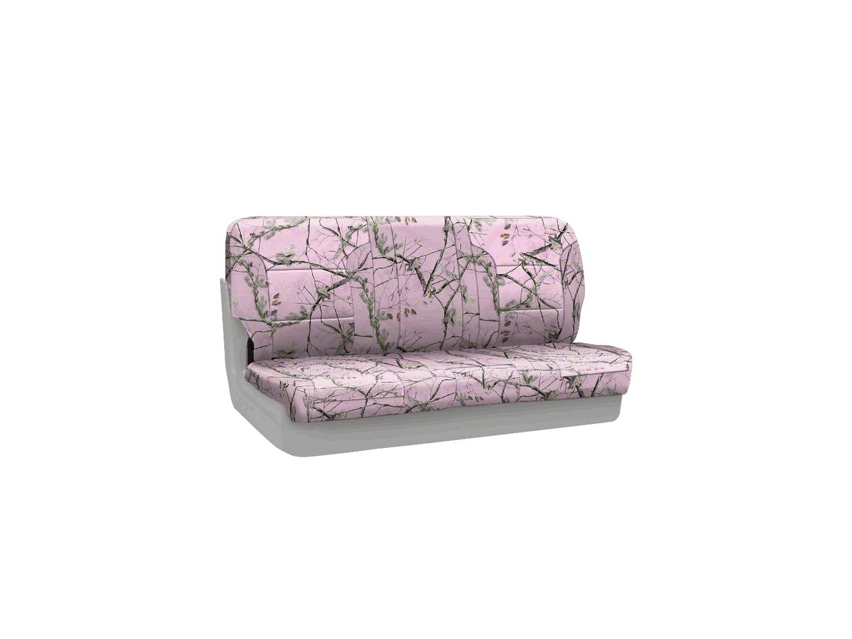 Stupendous Coverking Real Tree Neosupreme Rear Seat Covers Ap Pink 97 06 Jeep Wrangler Tj Bralicious Painted Fabric Chair Ideas Braliciousco