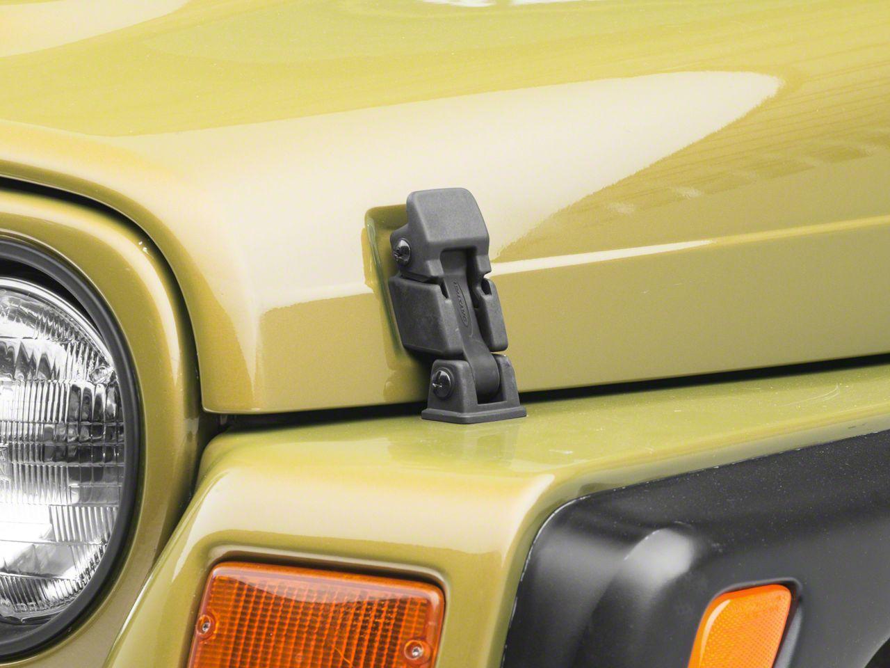 Rugged Ridge Hood Catch Kit (97-06 Jeep Wrangler TJ)
