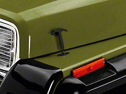Rugged Ridge Hood Catches - Black (87-95 Jeep Wrangler YJ)