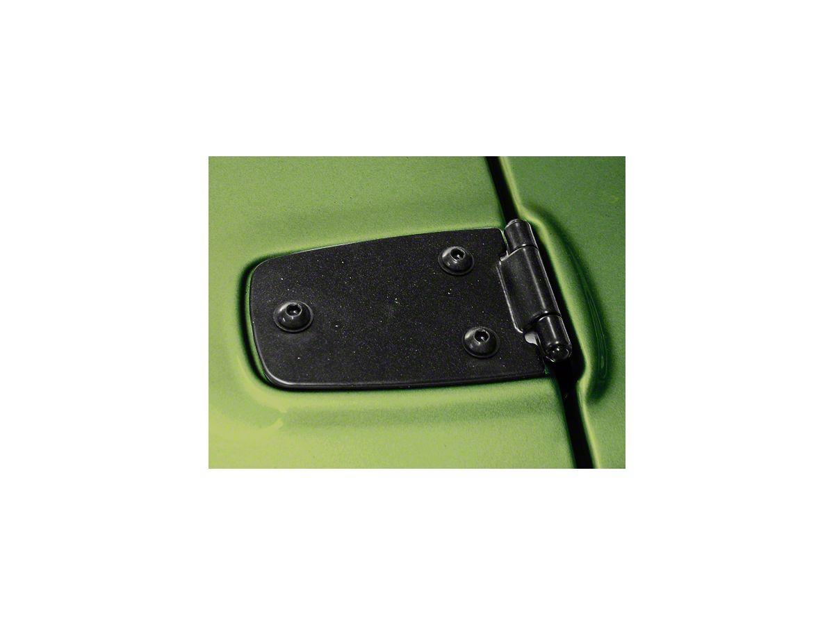 Kentrol Black Stainless Steel Hood Hinge