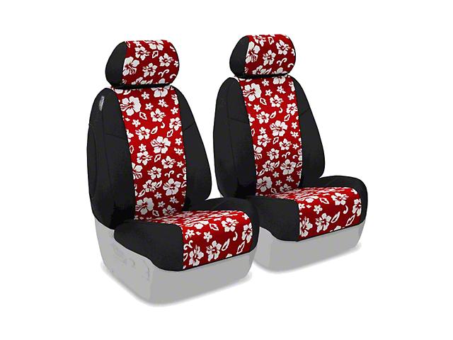 Coverking Neoprene Hawaiian Print Front Seat Covers