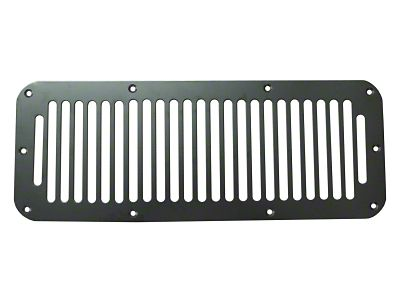 Rugged Ridge Hood Vent Cover - Black (87-95 YJ Jeep Wrangler)