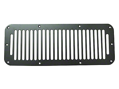 Rugged Ridge Hood Vent Cover - Black (87-95 YJ Wrangler)