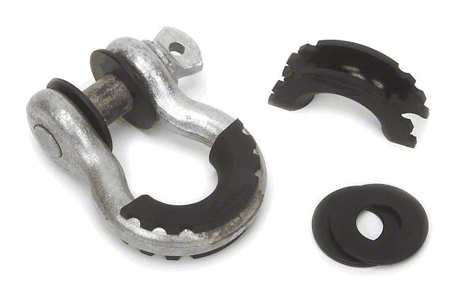 Daystar D-Ring Isolator & Washers - Black