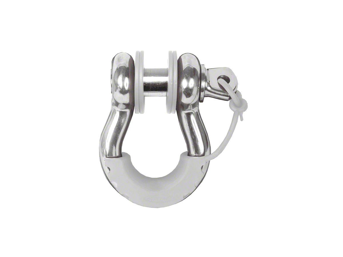 Daystar D-Ring Locking Isolators & Washers - White