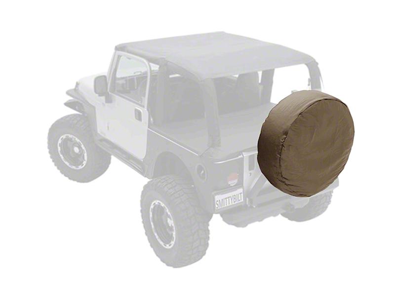 Smittybilt Spare Tire Cover - Denim Spice (87-19 Jeep Wrangler YJ, TJ, JK & JL)