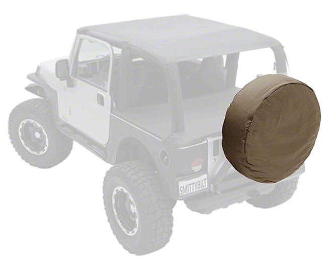 Smittybilt Spare Tire Cover - Denim Spice (87-18 Jeep Wrangler YJ, TJ, JK & JL)