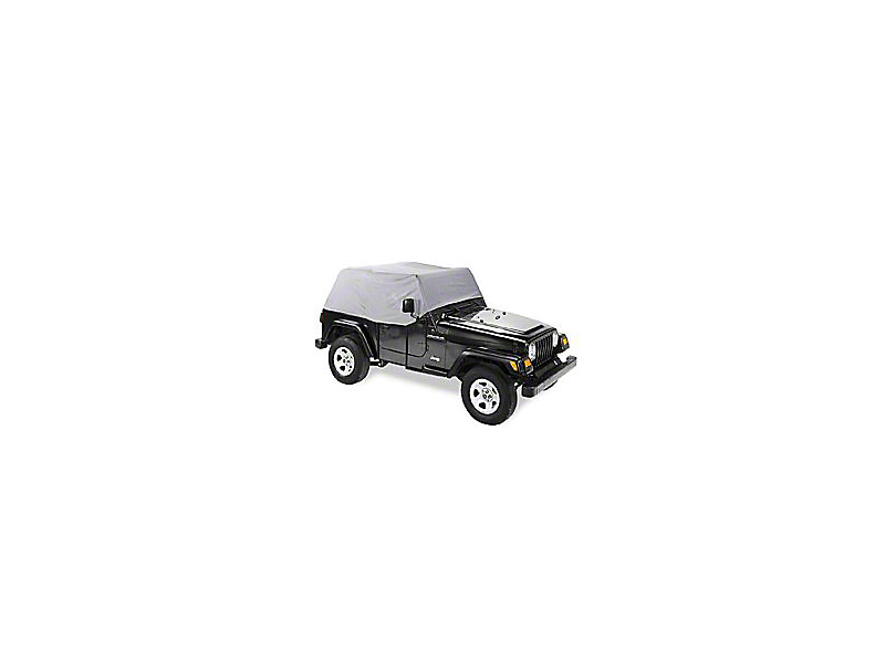 Canopy Cover - Charcoal (97-02 Jeep Wrangler TJ)