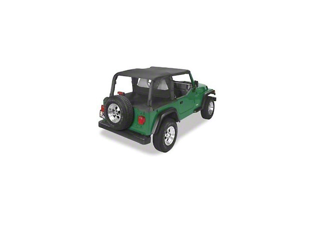 Sun Cap Plus - Black Denim (92-95 Jeep Wrangler YJ)