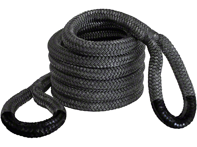 1-1/2 in. x 30 ft. Jumbo Bubba Black Eye Rope - 74,000 lb.
