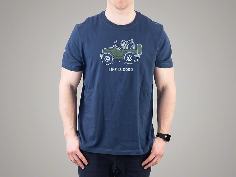 Life is Good Men's Off-Road 4x4 T-Shirt