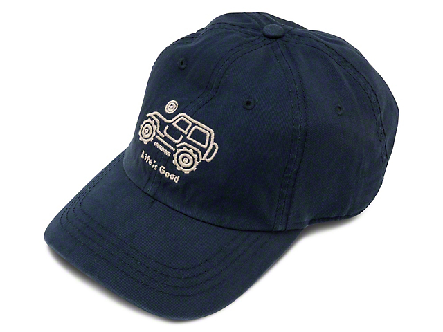 Life is Good Native Off-Road Chill Hat; Darkest Blue