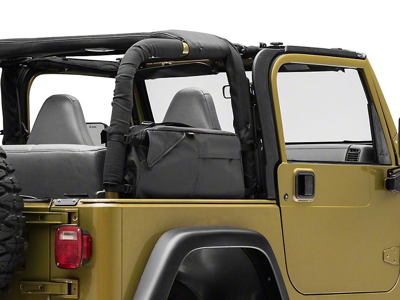 Bestop RoughRider Saddle Bag (92-06 Jeep Wrangler YJ & TJ)