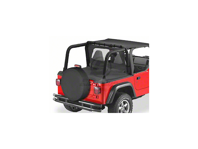 Bestop Duster Deck Cover - Black Denim (97-02 Jeep Wrangler TJ w/ SuperTop)