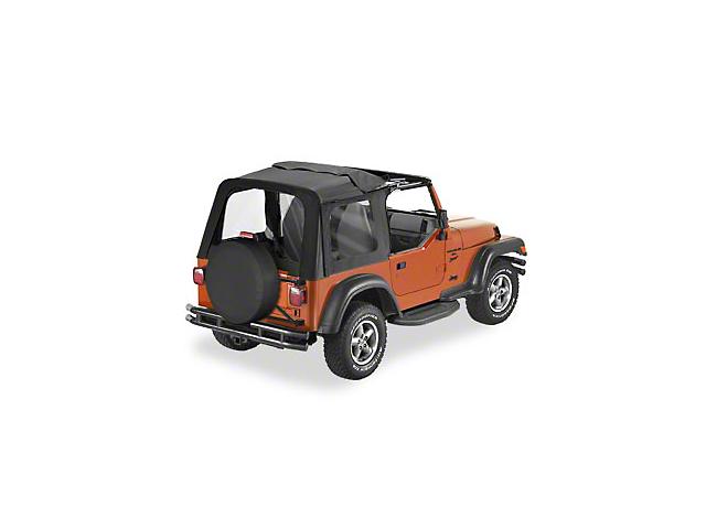 Bestop Sunrider Complete Soft Top - Black Denim (97-02 Jeep Wrangler TJ)
