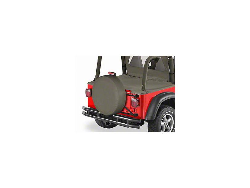 Bestop Spare Tire Cover - Spice (87-19 Jeep Wrangler YJ, TJ, JK & JL)