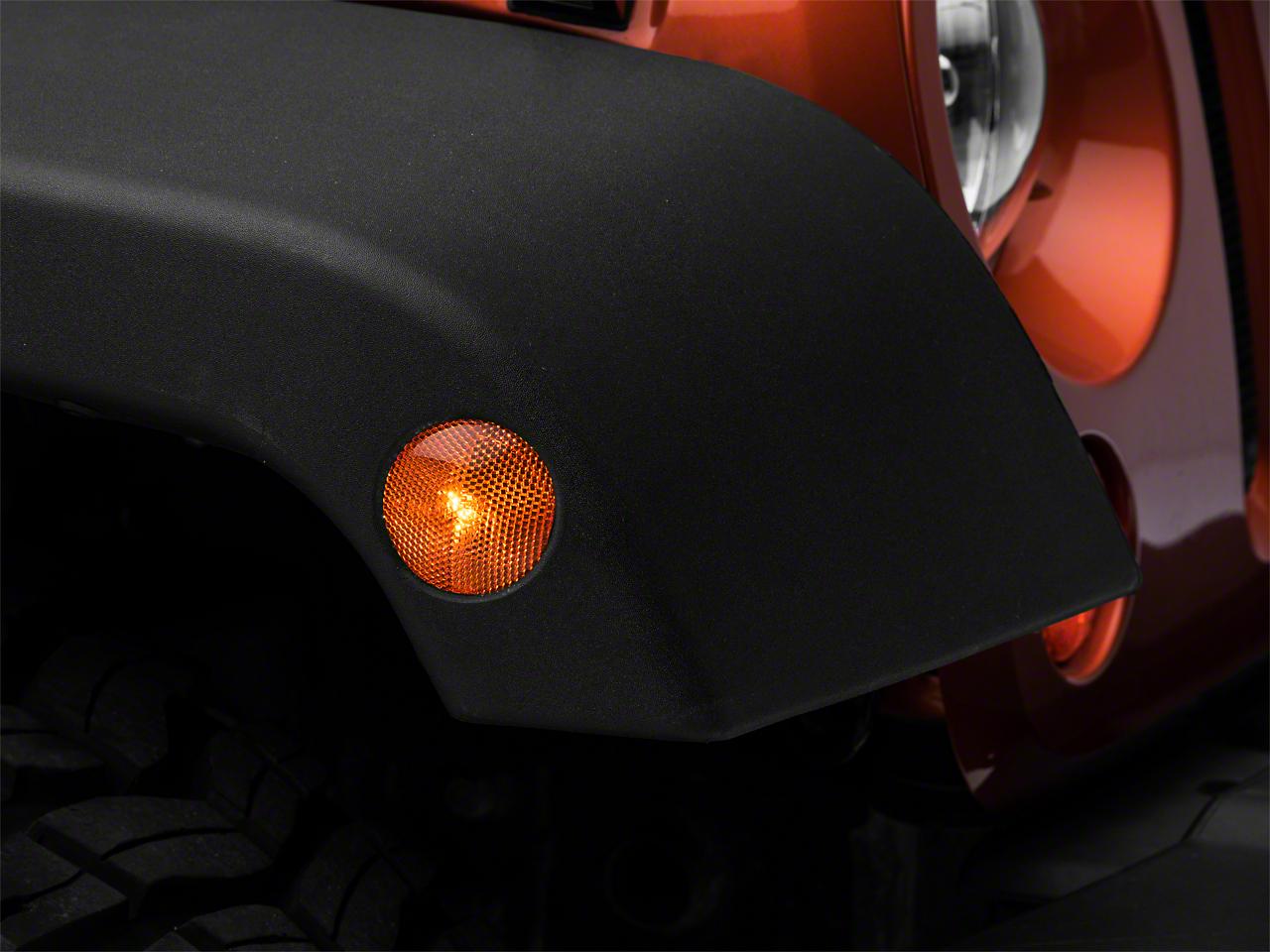 Crown Automotive Amber Side Marker Lens - Passenger Side (07-18 Jeep Wrangler JK)