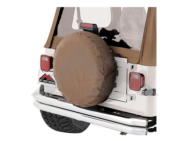 RT Off-Road Rough Trail Spare Tire Cover - Spice (87-19 Jeep Wrangler YJ, TJ, JK & JL)