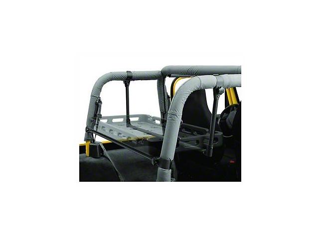 Bestop HighRock 4x4 Lower Cargo Rack Bracket (92-02 Jeep Wrangler YJ & TJ)