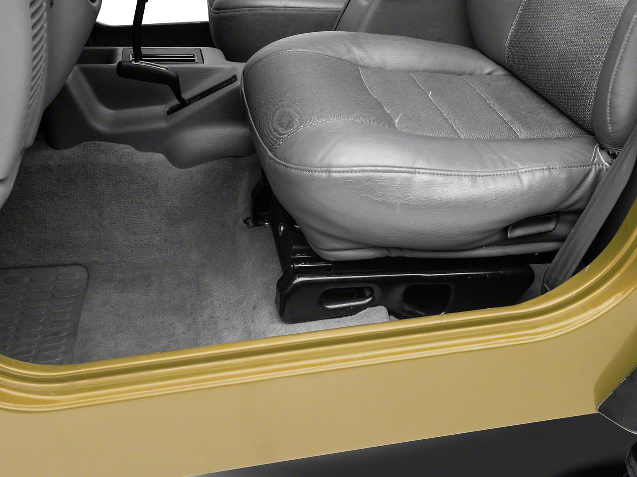Bestop Underseat Storage Lock Box - Driver Side (97-06 Jeep Wrangler TJ)