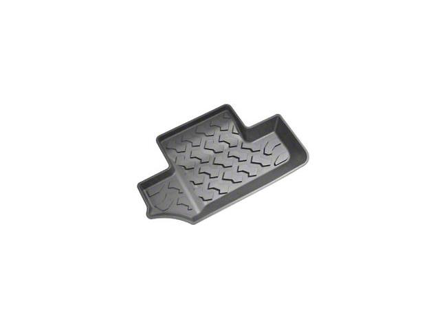 Bestop Rear Floor Mats - Black (07-18 Jeep Wrangler JK 2 Door)