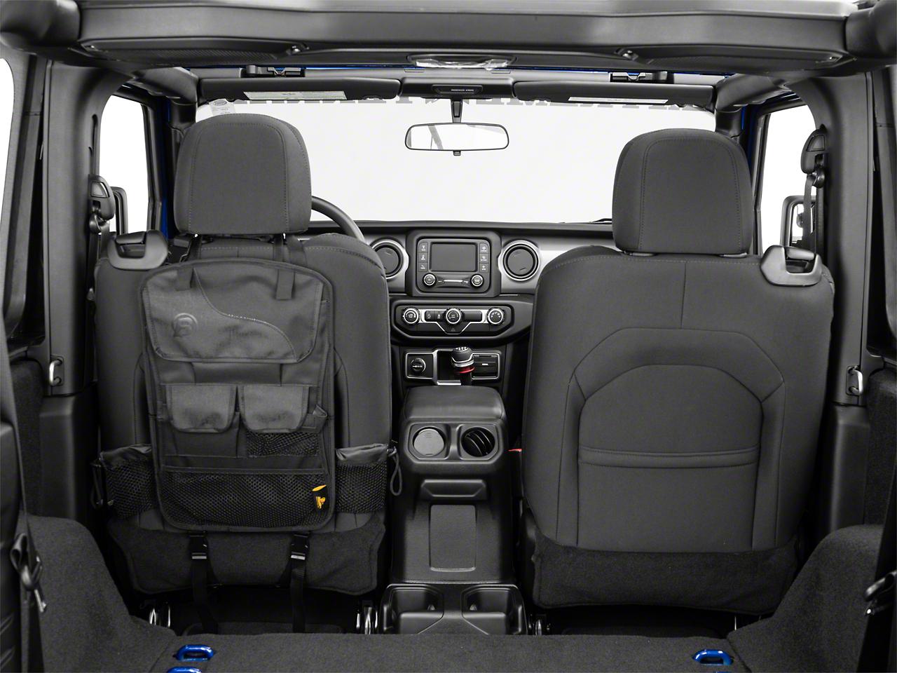 Bestop RoughRider Seat Back Storage Organizer (87-18 Jeep Wrangler YJ, TJ & JK)
