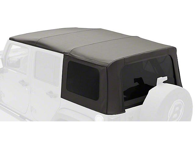Bestop Sailclotch Replace-a-Top w/ Tinted Windows - Black Diamond (2010 Jeep Wrangler JK 4 Door)