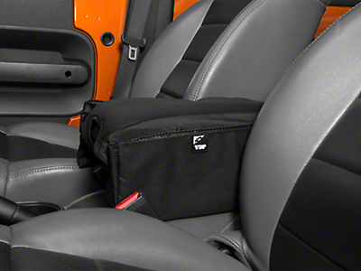 Vertically Driven Center Console Arm Rest Pad (07-18 Jeep Wrangler JK)