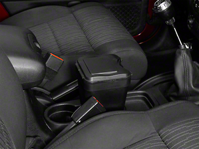 Vertically Driven Cup Holder Trash Can (87-18 Jeep Wrangler YJ, TJ, JK & JL)