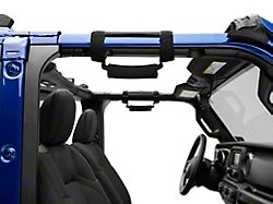 Deluxe Grab Handles; Black (Universal; Some Adaptation May Be Required)