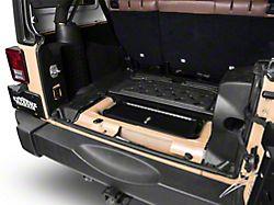 Locking Hidden Storage Vault (07-18 Jeep Wrangler JK)