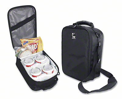 Vertically Driven Six Can Cooler - Black