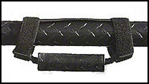 Vertically Driven Deluxe Grab Handles - Diamond Plate Black (87-18 Jeep Wrangler YJ, TJ, JK & JL)