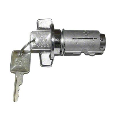 Ignition Switch w/ Key (87-90 Jeep Wrangler YJ)