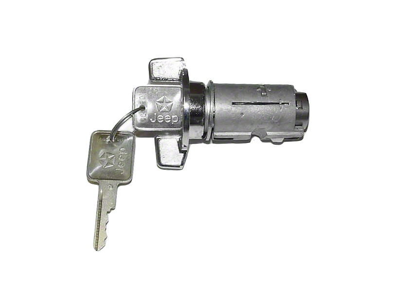 Omix-ADA Ignition Switch w/ Key (87-90 Jeep Wrangler YJ)