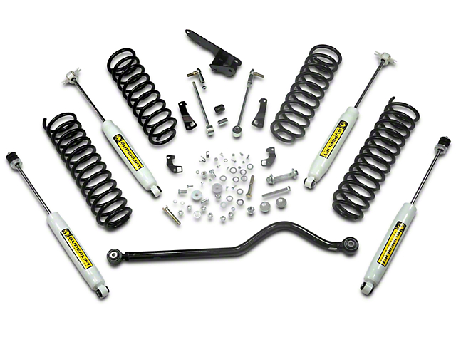SuperLift 4 in. Value Suspension Lift Kit w/ Superide Shocks (07-18 Jeep Wrangler JK 2 Door)