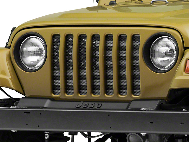 Dirty Acres Grille Insert - American Tactical (97-06 Jeep Wrangler TJ)