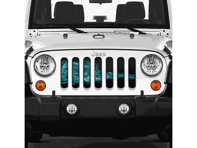 Grille Insert; Blue Smoke (97-06 Jeep Wrangler TJ)